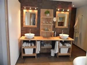 Les 25 meilleures idees concernant eclairage de salle de for Salle de bain design avec décoration de table exotique