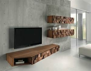 21 floating media center designs for clutter free living room With kitchen cabinet trends 2018 combined with oak tree metal wall art
