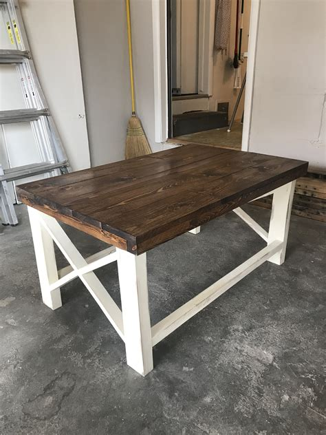 **full video tutorial** clean lines & modern design sets this build apart. Farmhouse Coffee Table - RYOBI Nation Projects