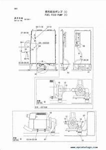 Hitachi Ex1200 5c Fuel Feed Pump P18e