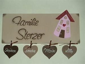 Türschild Familie Holz : 11 best images about t rschild on pinterest deko villas ~ Lizthompson.info Haus und Dekorationen
