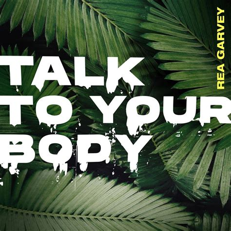rea garvey talk   body radio rur