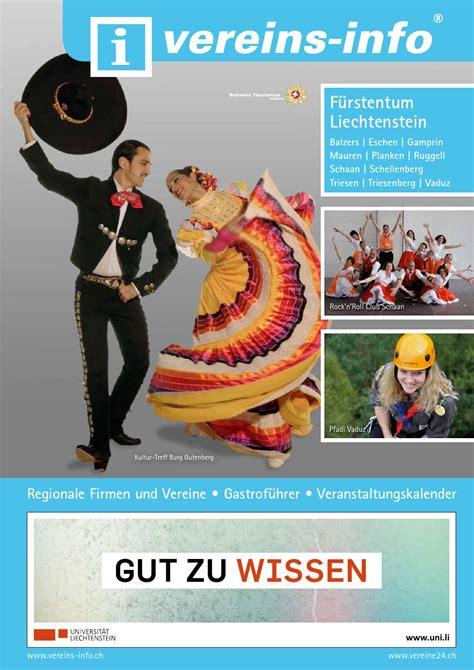 ISSUU - Vereins-Info Liechtenstein by Miplan AG