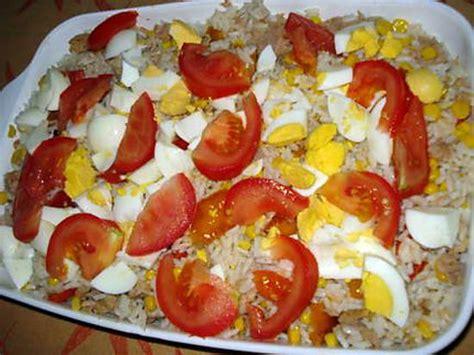 cuisine salade de riz recette de salade de riz par carvalho