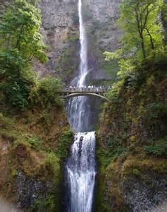 Multnomah Falls Columbia River Gorge