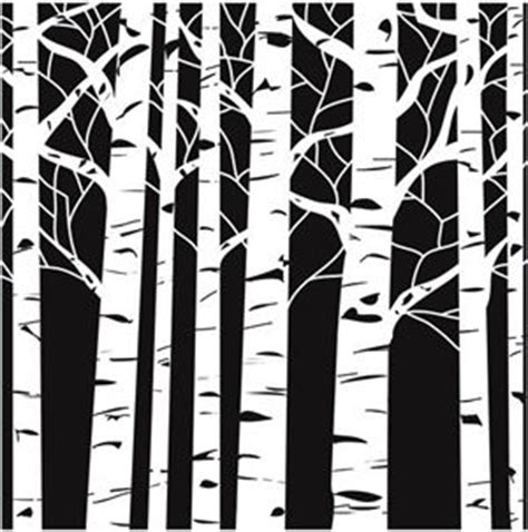 aspen forest silhouette light soft expressions 50 msrp aspen trees crafters workshop doodle template stencil 6x6 inch