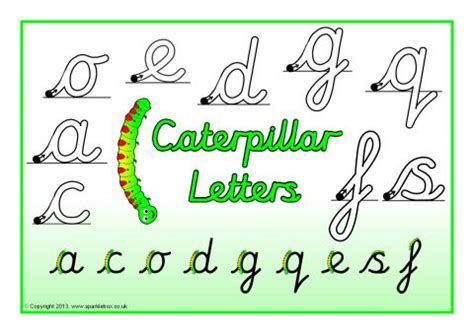 view preview letter formation posters cursive sb