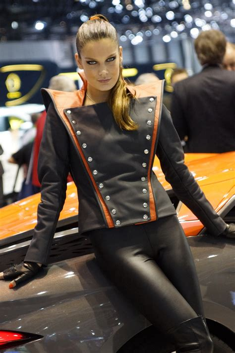 geneva motor show girls autotribute