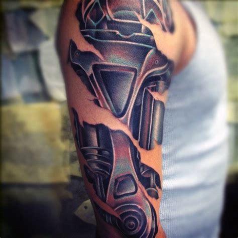 fantastic terminator tattoo designs  ideas gallery