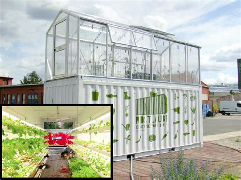 Shipping Container Garden  Home Decoration Ideas Designing