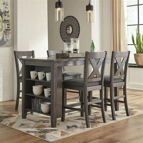 caitbrook counter height dining room set signature design