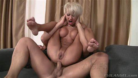 Svelte Harlot Pounded A  Haired Cock