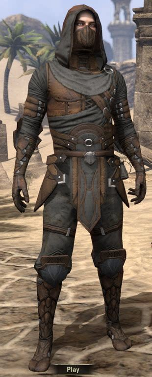 eso fashion thieves guild leathers elder scrolls