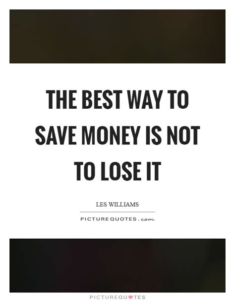 Famous Quotes On How To Save Money