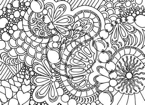 Detailed Image Free Coloring Pages For Adults Printable Detailed Image 23