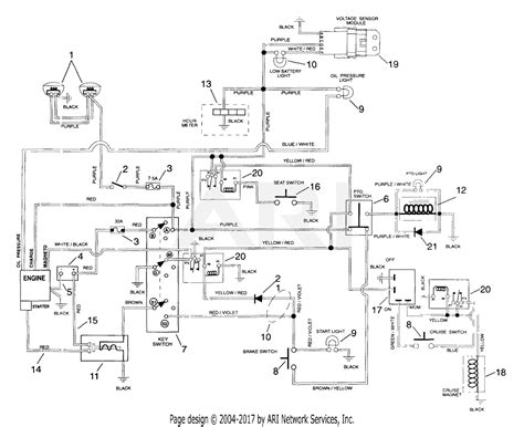 Sear 26 Kohler Engine Electrical Diagram by Gravely 987100 000101 Glt 440 15hp Kohler 40 Quot Deck