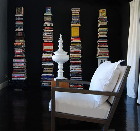 floor and decor decorating with books trendy ideas creative displays