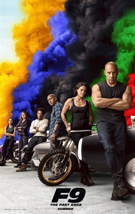 fast  furious  group poster assembles vin diesel