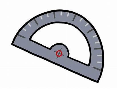 Protractor Clipart Math Ruler Compass Transparent Geometry