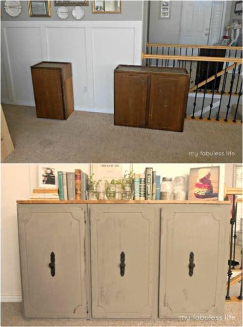 diy repurposing ideas   kitchen cabinets style
