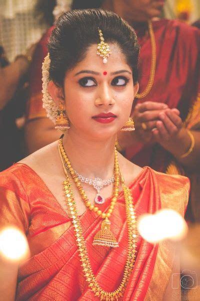 south indian bride gold maangtikka gold bridal jewelry