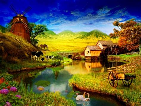 Country life - Other & Nature Background Wallpapers on ...