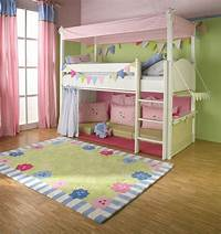 girls bunk beds Girls Cabin bed with Canopy, curtains and cushions | The Baby Cot Shop in Chelsea, London