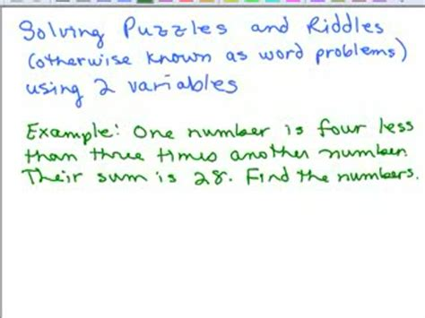 systems of equations with 3 variables word problems worksheet algebra 1 word problems linear equations systems of