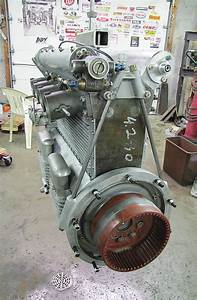 Assembling A 270ci Offenhauser Indycar Engine  Step By