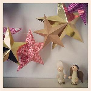 Make, Paper, Star, Garland, As, Seen, In, Marie, Claire, U2039, Sewyeah