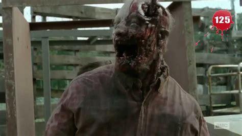 walking dead zombie kill count season  youtube