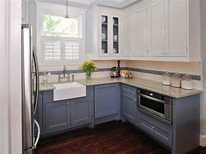 painting kitchen cabinets antique white hgtv pictures With what kind of paint to use on kitchen cabinets for coral and blue wall art