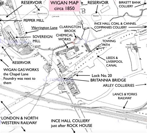 wiganworld - Wigan Album, Map of Wigan and Ince-in ...