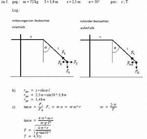 Pendellänge Berechnen : patrick 39 s physikseite physikaufgaben mit l sungen ~ Themetempest.com Abrechnung