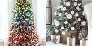 35 unique christmas tree decorations 2017 ideas for