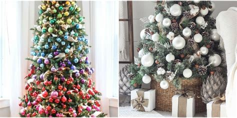 unique christmas tree decorations  ideas