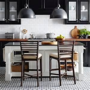 black granite kitchen island barrelson white kitchen island with black granite top