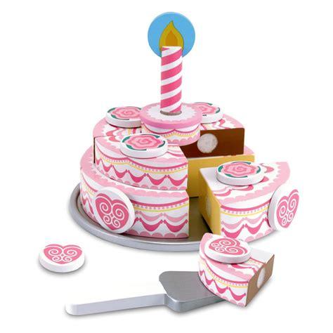 jeux de cuisine de gateaux d anniversaire gâteau d 39 anniversaire à trancher jouet en bois