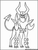 Houndour Coloring Mega Fun Printable sketch template