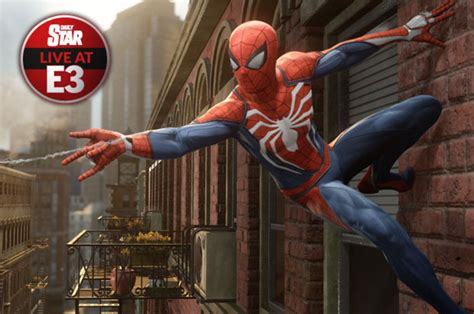 spider man sony ps exclusive revealed  open world game