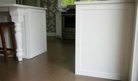 how to install kitchen cabinet end panels cabinet end panels 187 rogue engineer 9441