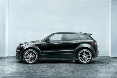 hamann shows   rr evoque widebody kit wvideo