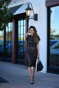 How To Wear A Lace Dress... This Is How It's Done - Just ...