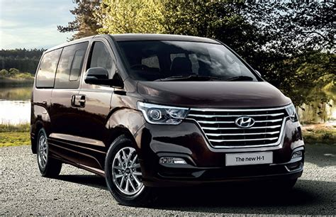 Hyundai H1 Wallpapers by 2018 Hyundai H1 And Starex Facelift Thai Prices And Specs
