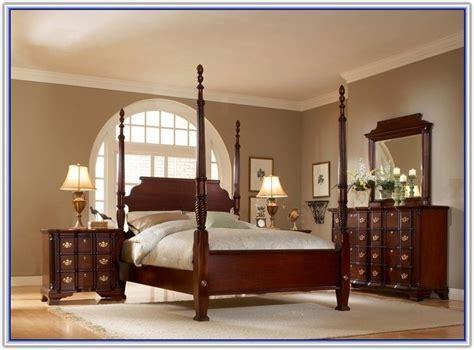 Solid Mahogany Bedroom Furniture Set  Bedroom Home