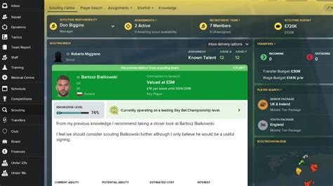 football manager 2018 scouting revamped completely