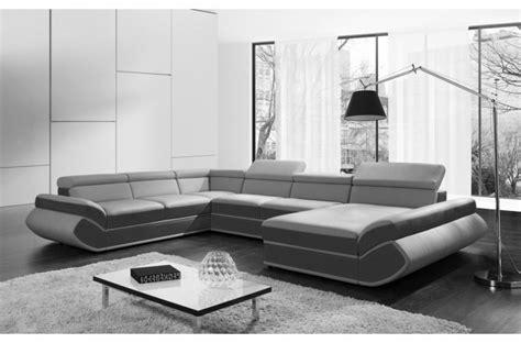 canap駸 simili cuir canape convertible simili cuir maison design modanes com