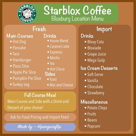 Bloxburg Menu Id Cafe Pictures To Pin On Pinterest