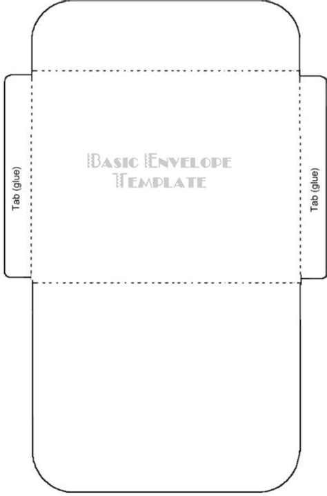 envelope template for 4x6 card free printable card envelope templates templates