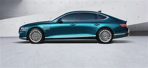 Genesis unveils the Electrified G80 in Shanghai   The ...